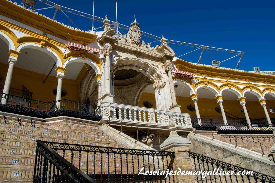 Plaza de Toros , la maestranza de Sevilla - Los viajes de Margalliver